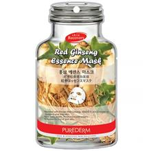 Purederm Red Ginseng Essence Face Mask Pack Of 10